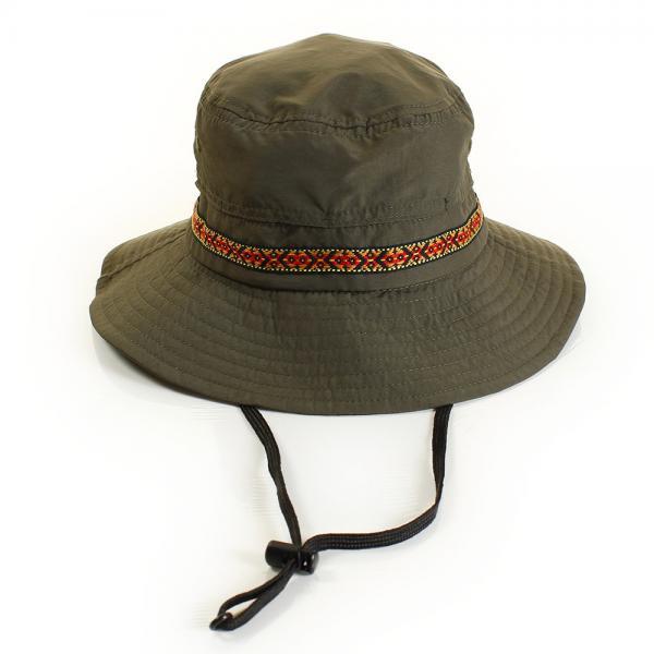 ホールアース(Whole Earth) チロリアンテープJrハット WES17K03-7108 OLV 帽子(Men's、Lady's)