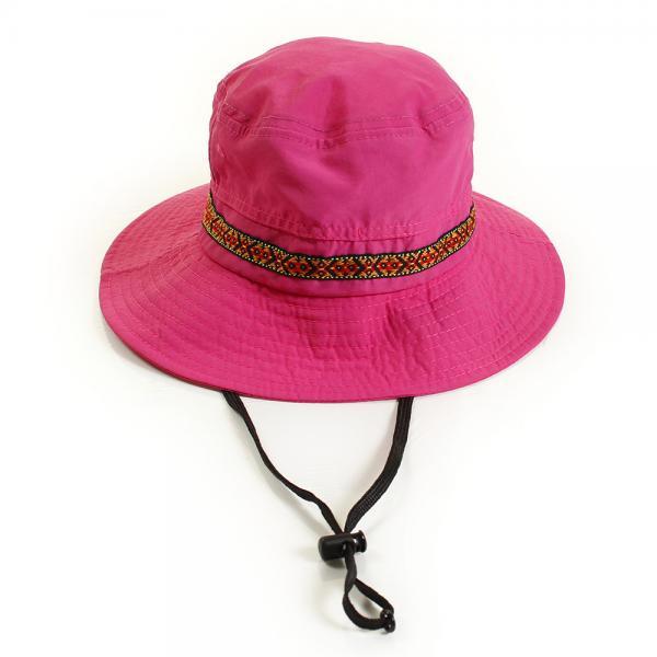 ホールアース(Whole Earth) チロリアンテープJrハット WES17K03-7108 PNK 帽子(Men's、Lady's)
