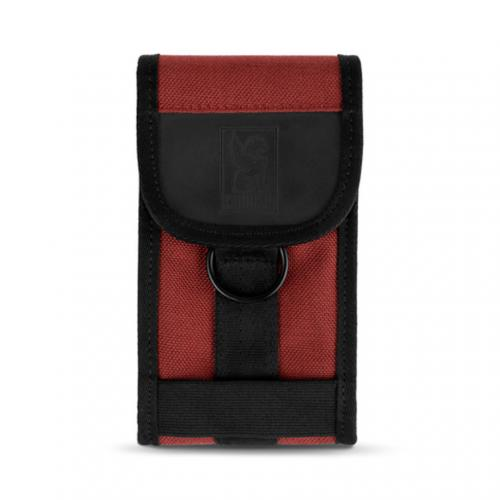 クロム(CHROME) PHONE POUCH AC135 Brick/Black スマホケース(Men's、Lady's)