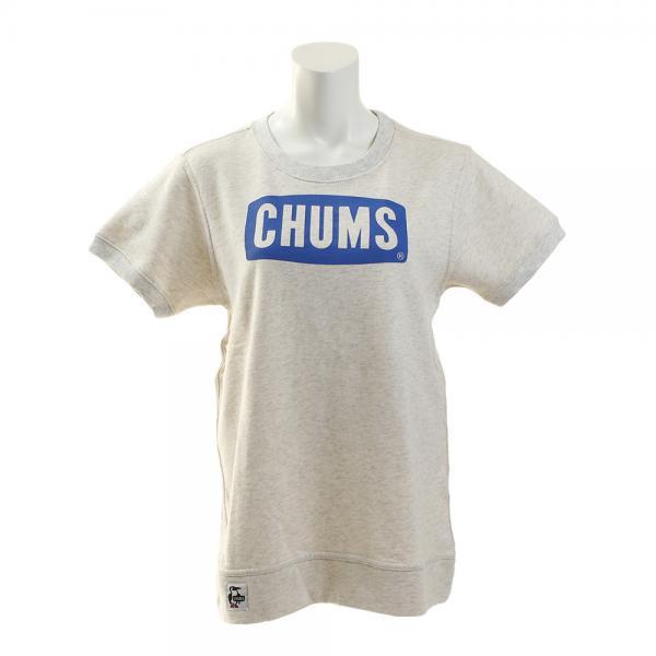 チャムス(CHUMS) Logo クルーネック半袖Tシャツ CH10-1061-W025(Lady's)