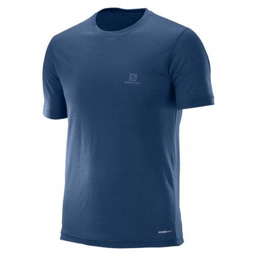 サロモン(SALOMON) EXPLORE SS TEE M L39309400 IN メンズ 半袖Tシャツ(Men's)