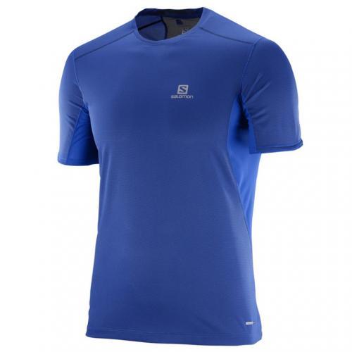 TRAIL RUNNER SS TEE M L39385600 BLUE メンズ 半袖Tシャツ