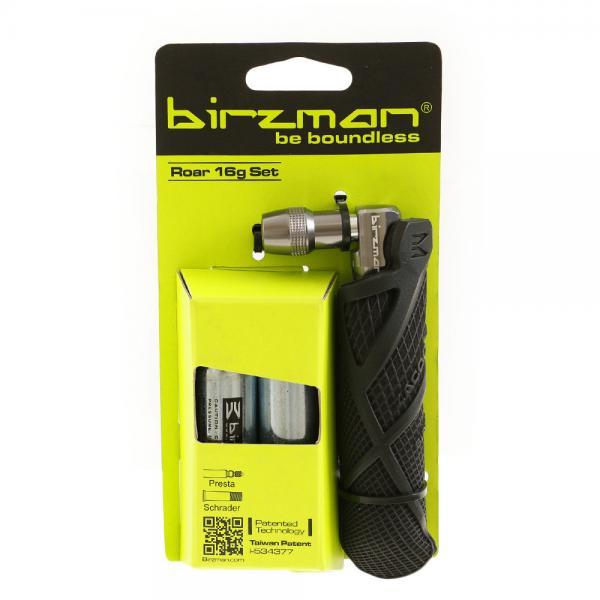 アキワールド(AKI WORLD) Birzman バーズマン ZACOO CO2 BOTTLE SET PU GRIP 自転車 パーツ PP-BR-021(Men's、Lady's)