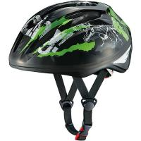 OGK-KABUTO STARRY ジュニア 子供用 自転車ヘルメット 226940 BK ティラノブラック(Jr)