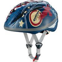 OGK-KABUTO STARRY ジュニア 子供用 自転車ヘルメット 226943 LB フラッグブルー(Jr)