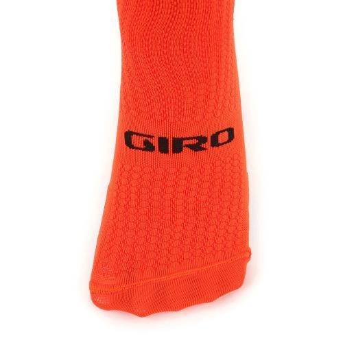 ジロ(giRo) HRC TEAM 男女兼用 サイクリング アクセサリー 自転車ソックス 靴下 35-4017077497 VERMILLION/BLK(Men's、Lady's)
