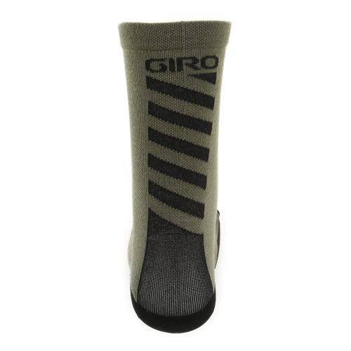 ジロ(giRo) HRC+MERINO WOOL 男女兼用 サイクリング アクセサリー 自転車ソックス 靴下 35-4037077545 MIL SPEC/BLACK(Men's、Lady's)