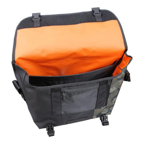 ティンバックツー(Timbuk2) Classic Messenger Bag クラシックメッセンジャーバッグ(サイズ:M)自転車カバン 1108-4-1138 JetBlack/Camo(Men's、Lady's)