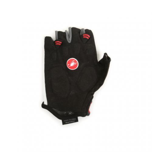 カステリ(Castelli) S.Uno ショートフィンガーグローブ メンズ 男性用 自転車 手袋 11046-101 WHITE(Men's)