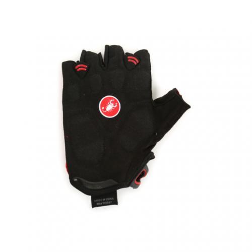 カステリ(Castelli) S.Uno ショートフィンガーグローブ メンズ 男性用 自転車 手袋 11046-123 RED/BL(Men's)