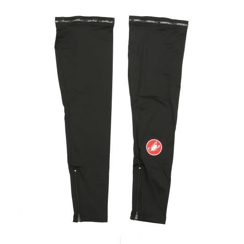 カステリ(Castelli) UPF 50+ Light レッグスキン メンズ レディース 男女兼用 16037-010 BLACK(Men's、Lady's)