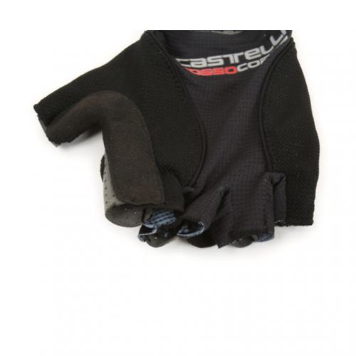 カステリ(Castelli) ROSSO CORSA PAVE GLOVE  17029-010 BLACK ショートフィンガーグローブ (Men's)