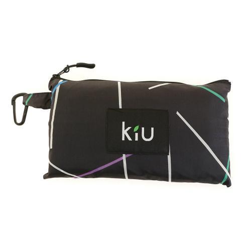 Kiu レインポンチョ K29-116 ラインブラック(Lady's)