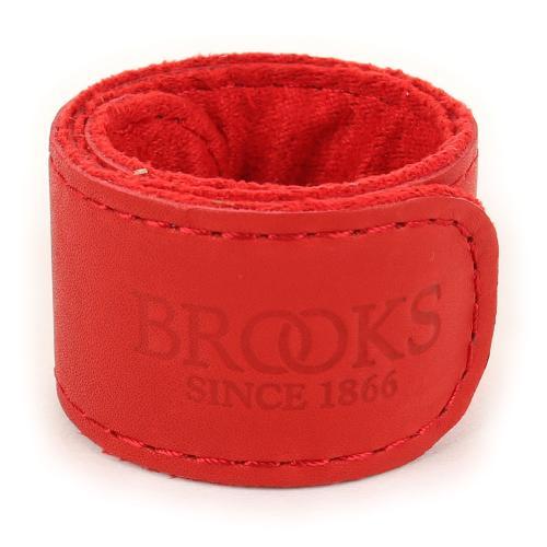 ブルックス(BROOKS) TROUSER STRAP パンツ ズボン アンクルバンド トランザー裾汚れ防止ストラップ 90-7001100006 RED