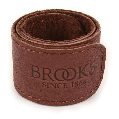 ブルックス(BROOKS) TROUSER STRAP パンツ ズボン アンクルバンド トランザー裾汚れ防止ストラップ 90-7001100014 A.BROWN