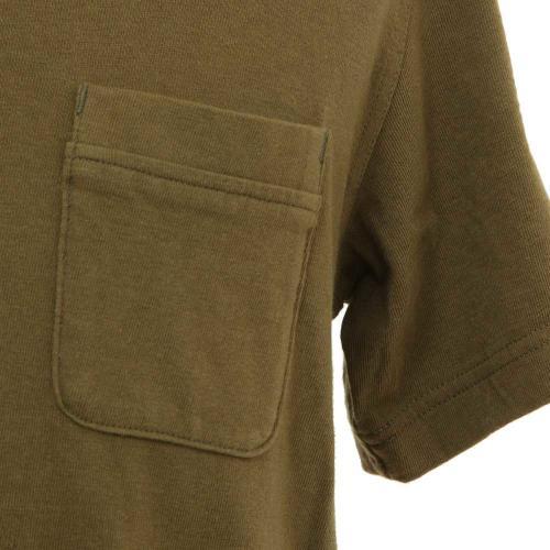 ポールワーズ(POLEWARDS) 吊り天竺Tシャツ メンズ 半袖Tシャツ 6803 KHAKI(Men's)