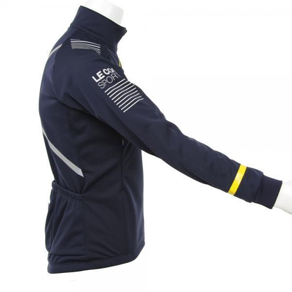 ルコック スポルティフ(Lecoq Sportif) テクノブレン3Lジャケット メンズ 男性用 サイクルウェア 自転車ジャージ QC 840473 MLN(Men's)