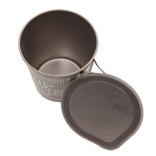 日清食品(nissinsyokuhin) カップヌードル型チタンクッカー 9843434 キャンプ用品 調理器具(Men's、Lady's)