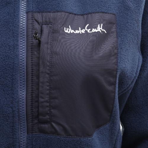ホールアース(Whole Earth) WOMENS FREECE JACKET WEFDAT04  NV フリースジャケット(Lady's)