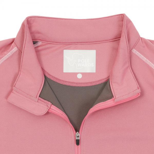 ポールワーズ(POLEWARDS) 半袖PPシャツ PWB17S4240W PNK(Lady's)