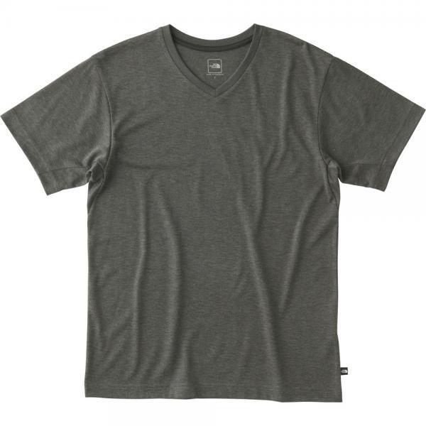 ノースフェイス(THE NORTH FACE) ショートスリーブメリノブイネック S/S Merino V-Neck(メンズ)NT61716 ZC Tシャツ(Men's)