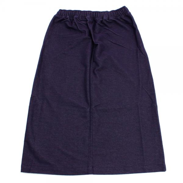 チャムス(CHUMS) Stretch T/C Cut Sew Long Skirt CH18-1062 Navy(Lady's)
