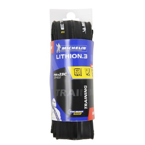 ミシュラン(Michelin) LITHION.3 リチオン 700X23C(23-622) 2057030081064 BLACKチューブタイヤ サイクルパーツ
