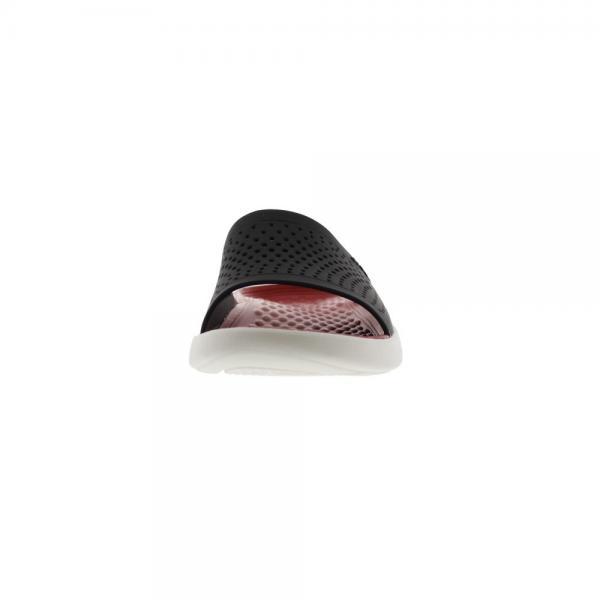 クロックス(crocs) ライトライド スライド サンダル literide slide Blk 205183-066(Men's)