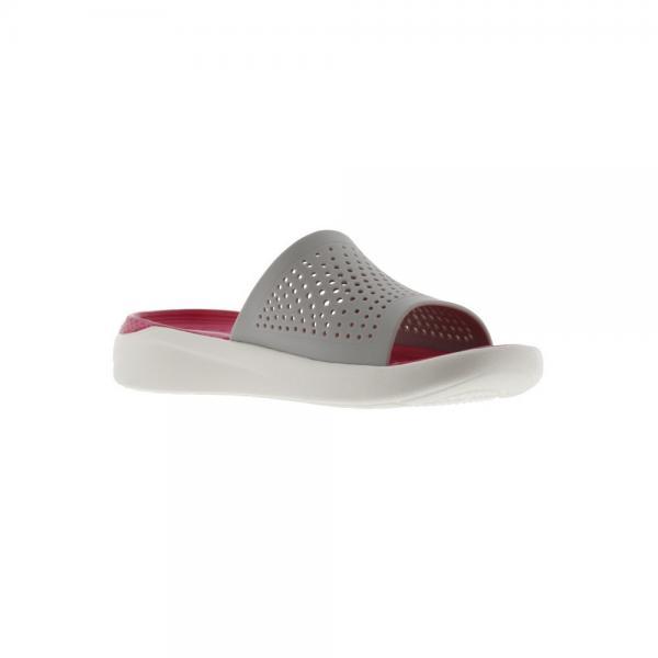 クロックス(crocs) ライトライド スライド サンダル literide slide Pwh 205183-115(Men's)