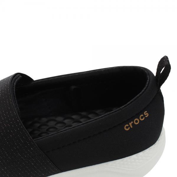 クロックス(crocs) literide スリッポン レディースシューズ Blk #205103-0EA(Lady's)