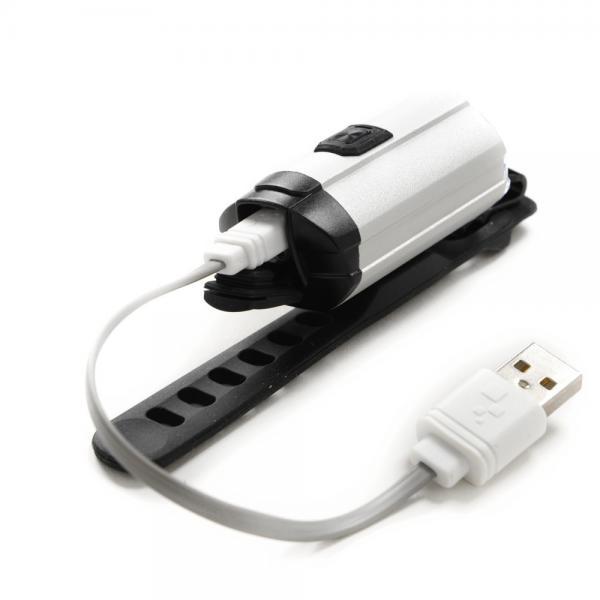 マルイ(MARUI) インフィニ INFINI TRON 300 I-281P LPF1760100000 SILVER USB ヘッドライト