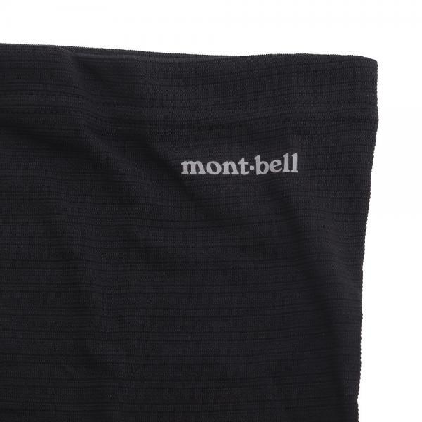 モンベル(mont-bell) ジオラインLWウエストウォーマー 1107169 BK(Men's)