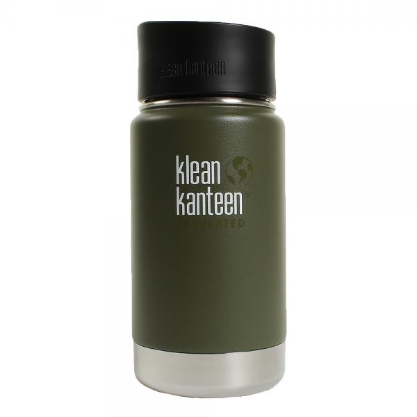 クリーンカンティーン(klean kanteen) ワイドインスレート カフェ 12oz フレッシュパイン *19322024138012(Men's、Lady's、Jr)