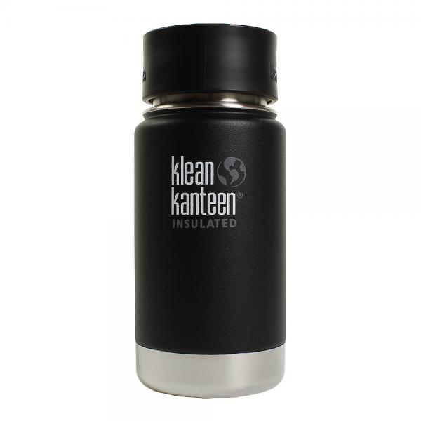 クリーンカンティーン(klean kanteen) ワイドインスレート カフェ 12oz  シェールブラック *19322024921012(Men's、Lady's、Jr)