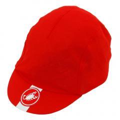 カステリ(Castelli) A/C CYCLING CAP 18024 023 RED(Men's、Lady's)