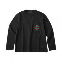 ペンドルトン L/S Embro CJ Tee 19801699 BLACK(Men's)
