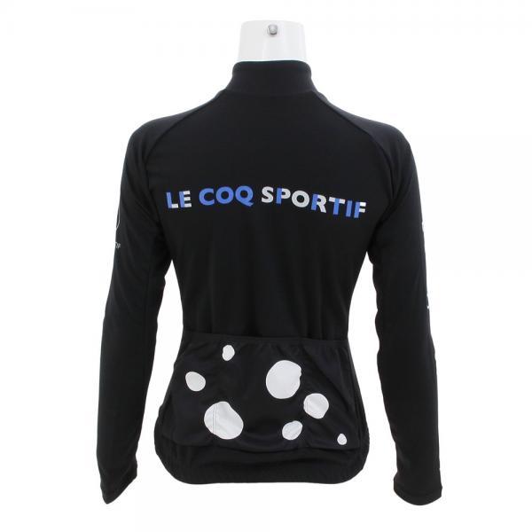 ルコック スポルティフ(Lecoq Sportif) ロングスリーブジャージ QCWMGB40 BLK(Lady's)