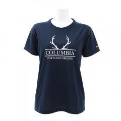コロンビア(Columbia) ハリソンスプリングス半袖Tシャツ PL3122 464(Lady's)