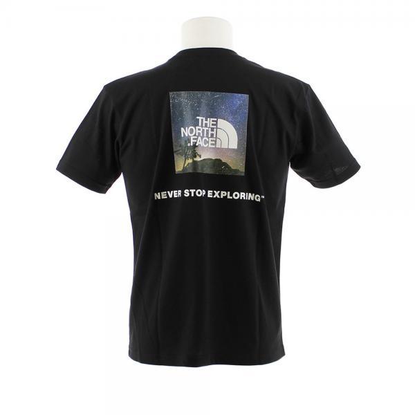 ノースフェイス(THE NORTH FACE) 【ゼビオ限定】 SQUARE NIGHT V 半袖Tシャツ NT31902X K #(Men's)