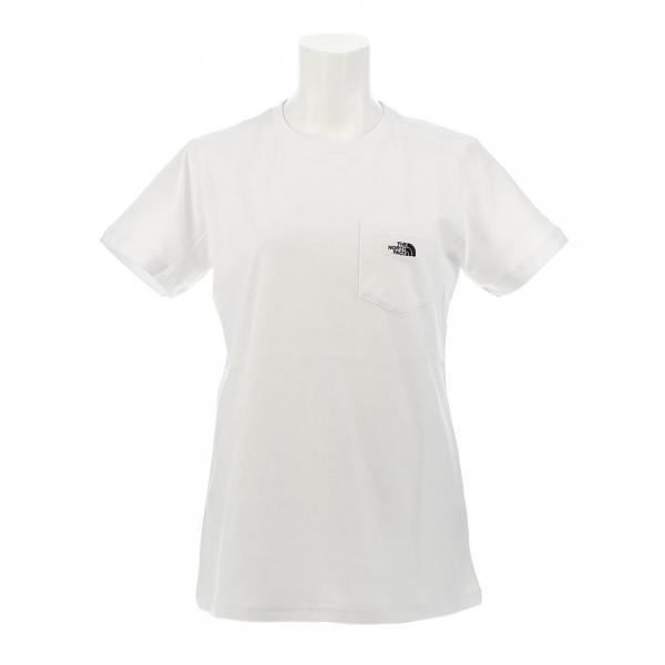 ノースフェイス(THE NORTH FACE) 【ゼビオ限定】 SIMPLE POCKET 半袖Tシャツ NTW31902X W #(Lady's)
