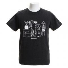 ボンファイア(Bonfire) CAMPERS ショートスリーブTシャツ 50BNF9SCD2034 BLK(Men's)