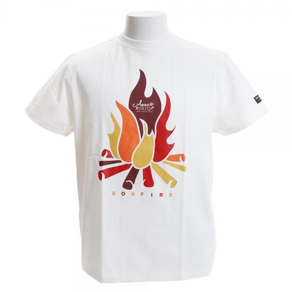 ボンファイア(Bonfire) FIRE HC ショートスリーブTシャツ 50BNF9SCD2039 WHT(Men's)