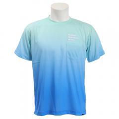 マーモット(MARMOT) グラデーションMMW ポケットハーフスリーブクルーネックTシャツ TOMNJA70-BLSA(Men's、Lady's)