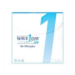 [送料無料/ポイント10倍/コンタクトレンズ]WAVEワンデー UV エアスリム BC/DIA:8.7/14.0 PWR:-10.00