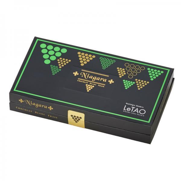 ルタオ (LeTAO) チョコレート ナイアガラ ショコラブラン フレ 8個入