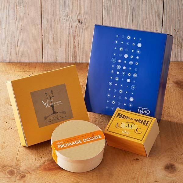 ルタオ (LeTAO) チーズケーキ ベストセレクション ギフトボックス入り