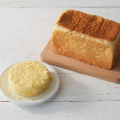 【送料込み】ルタオ (LeTAO) チーズケーキ 奇跡の口どけセット(ドゥーブルフロマージュ+北海道生クリーム食パン)