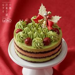 ルタオ クリスマスケーキ ノエル ピスターシュ 直径12cm 2~4名用 チョコレートケーキ