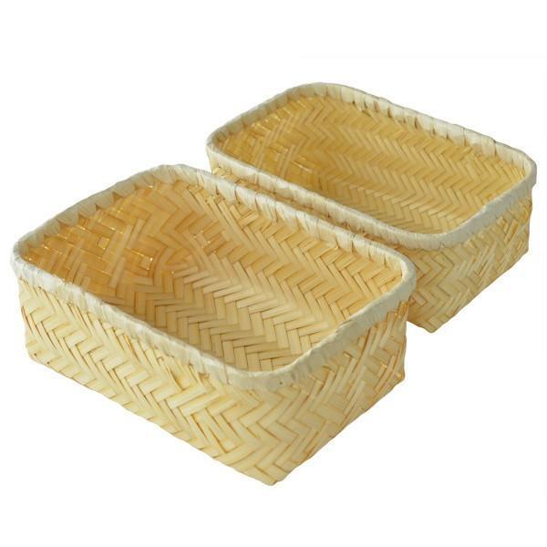 お弁当箱 バンブーボックス 竹製 竹かご Naturalist