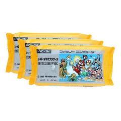 10%OFFクーポン対象商品 スーパーマリオ 日本製 ウエットティッシュ 水99% 80枚入り 3個入り ( パラベンフリー 水 お手拭 ) クーポンコード:KWDYK7W